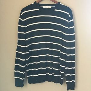 Old Navy Sweaters Mens Black And White Striped Sweater Poshmark